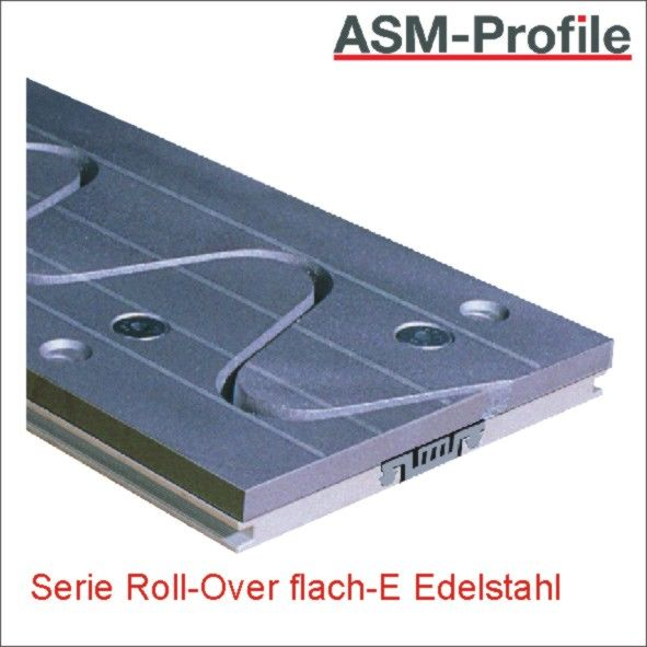 Titelbild Dehnfugenprofile Roll-Over flach-E